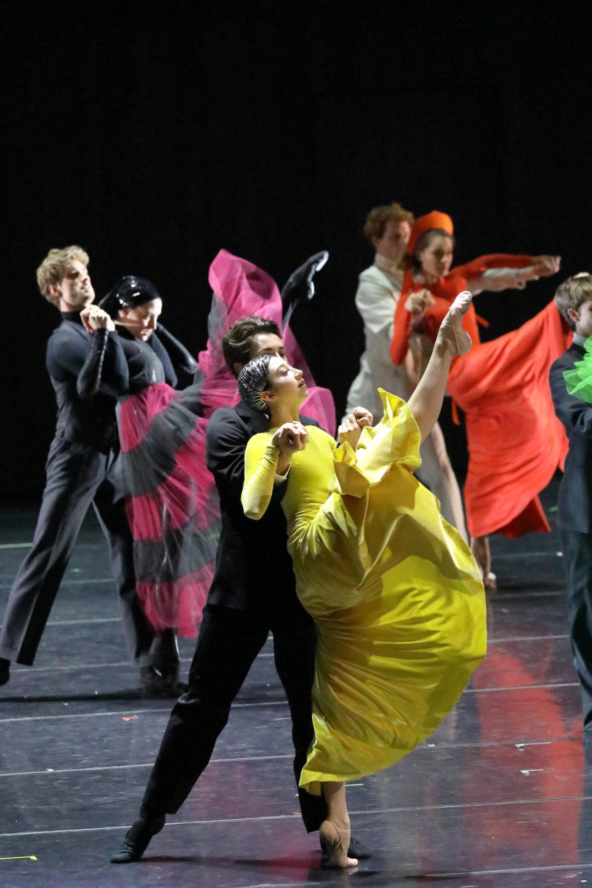 Der Schneesturm, Ballett, Bayerische Staatsoper, München, Livestream, 17. April 2021