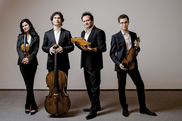 Belcea Quartet, Mozart, Penderecki, Brahms,  Wiener Konzerthaus