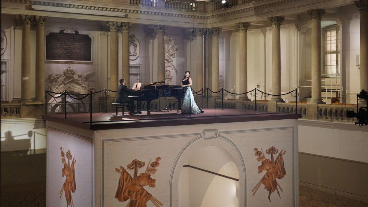 Anna Netrebko, Elena Maximova, Pavel Nebolsin, Piano,  Spanische Hofreitschule, Wien, Met Stars Live in concert (Stream),  6. Februar 2021