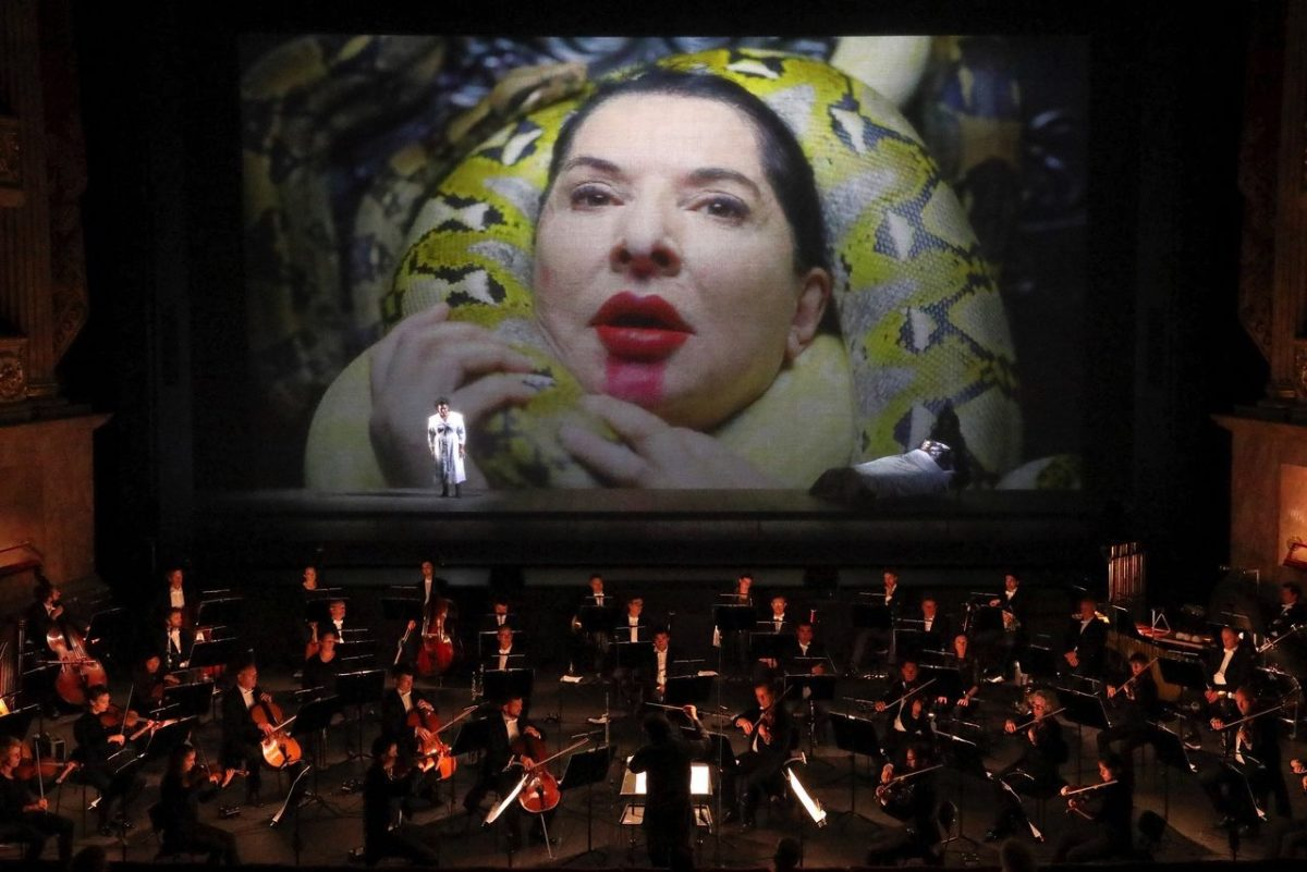 "Marina Abramović: ""The 7 deaths of Maria Callas""  Bayerische Staatsoper, 6. September 2020"