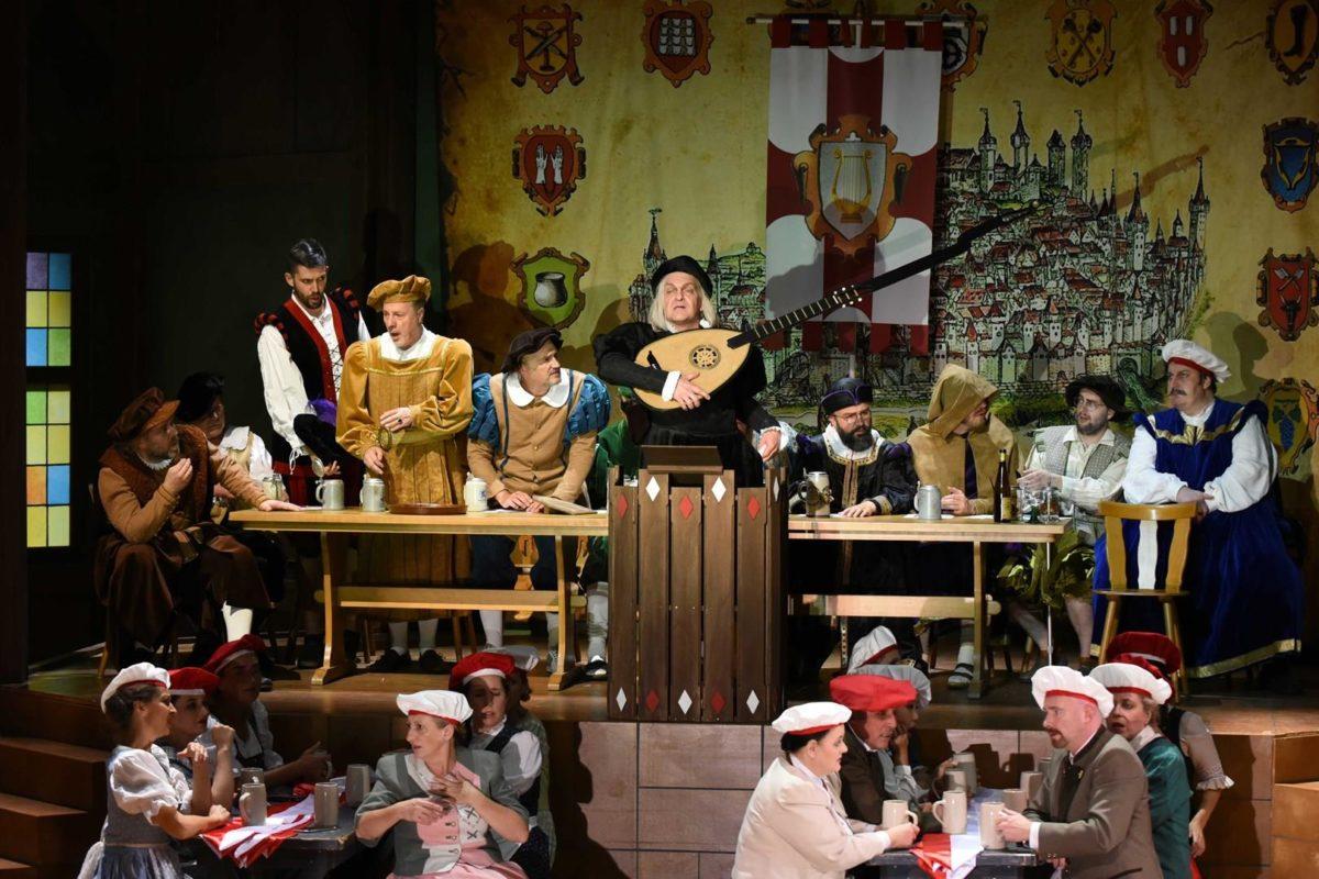 Richard Wagner, DIE MEISTERSINGER VON NÜRNBERG,  Hessisches Staatstheater Wiesbaden,30. Mai 2019