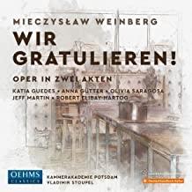 CD-Besprechung – Mieczyslaw Weinberg: Wir gratulieren!  klassik-begeistert.de