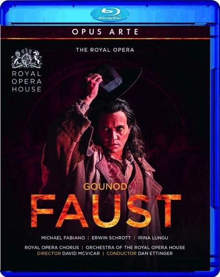 DVD-Besprechung, Charles Gounod, Faust, Royal Opera House London  klassik-begeistert.de