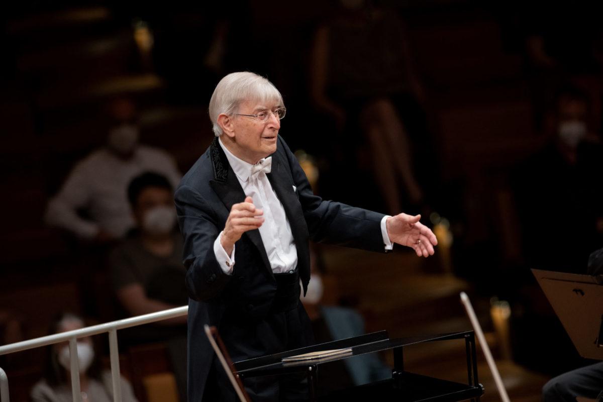 Herbert Blomstedt, Berliner Philharmoniker,  Philharmonie Berlin, 10. Juni 2021