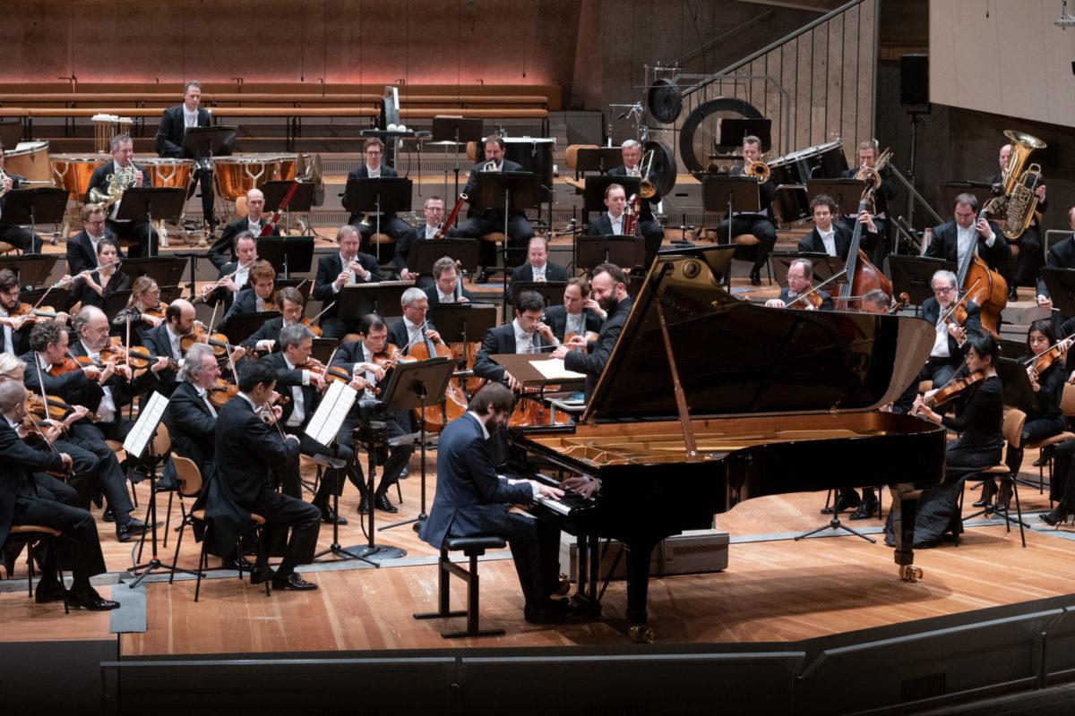 Kirill Petrenko, Berliner Philharmoniker, Daniil Trifonfov  Philharmonie Berlin, 29. Januar 2021
