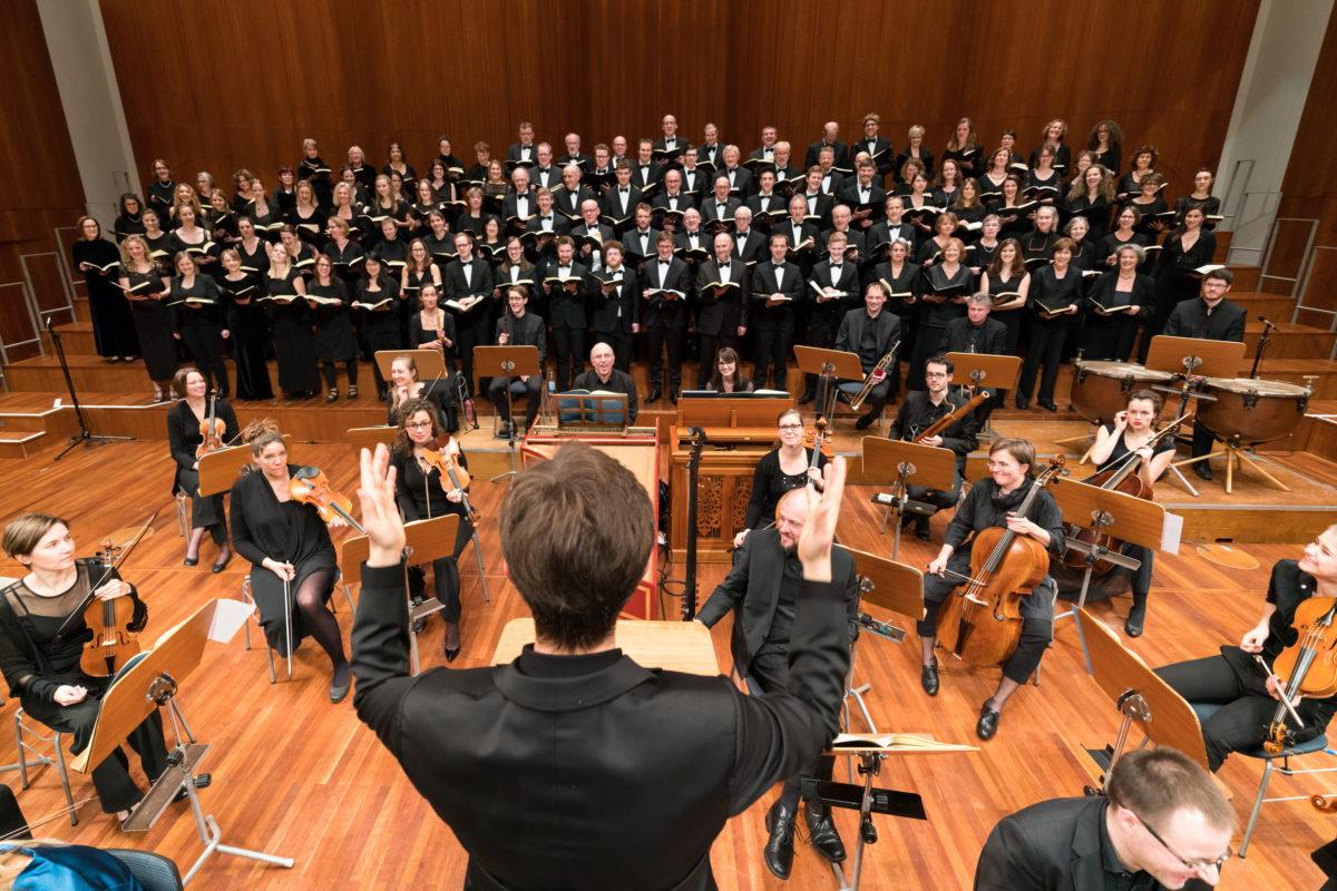 Johann Sebastian Bach, Matthäuspassion, Konzerthaus Freiburg, 2. März 2018