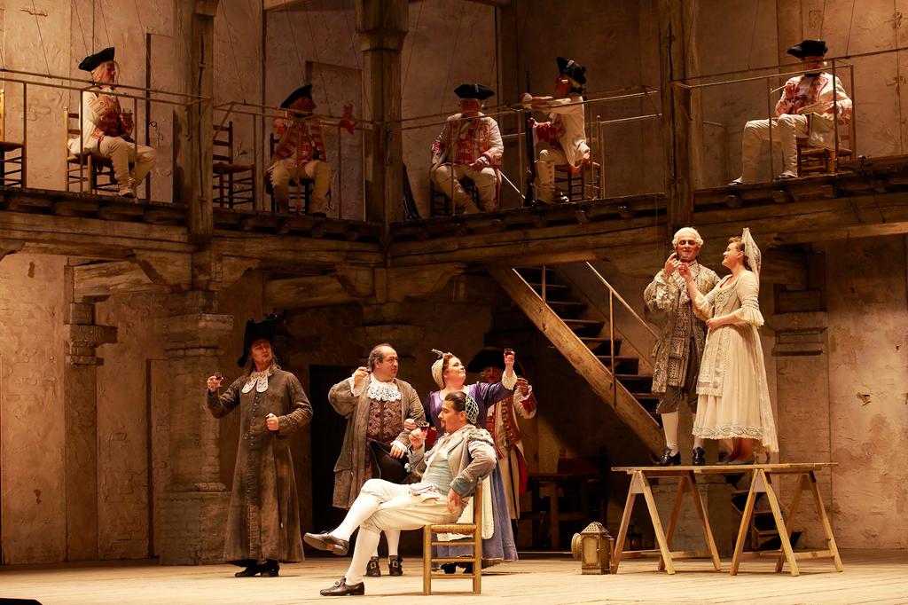 Gioachino Rossini, Il Barbiere di Siviglia, Staatsoper Hamburg, 4. Dezember 2018