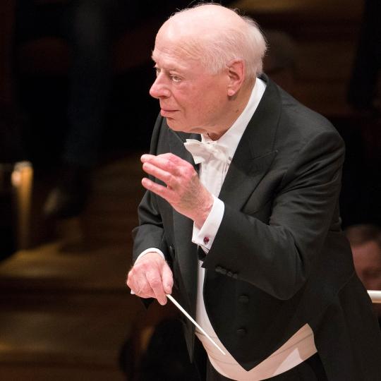 Berliner Philharmoniker, Bernard Haitink, Paul Lewis,  Philharmonie Berlin, 10. Mai 2019