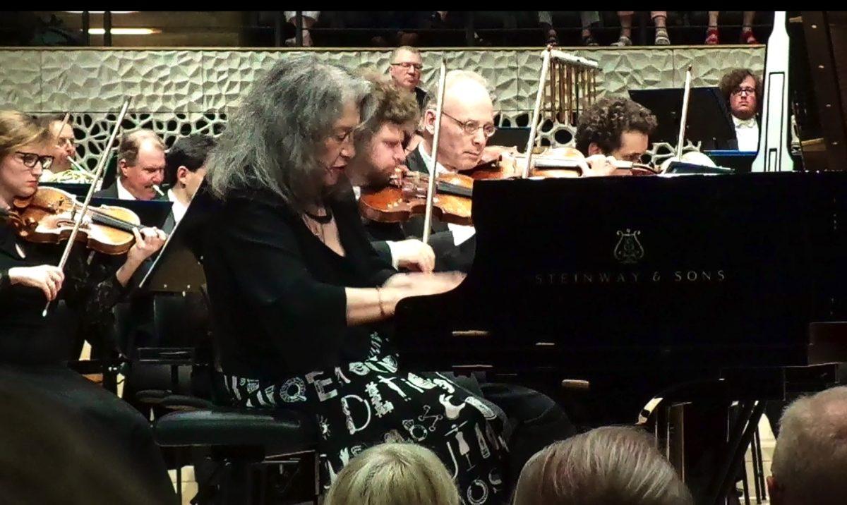 """Konzert """"Unwiderstehliche Sogwirkungen"""", Martha Argerich Festival, Laeiszhalle, Hamburg, 28. Juni 2019"""