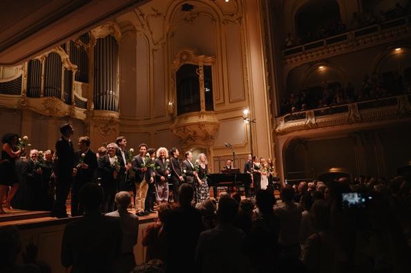 """Martha Argerich Festival, """"Krönende Freundesbande"""",  Laeiszhalle, Hamburg, Großer Saal, 30. Juni 2019"""