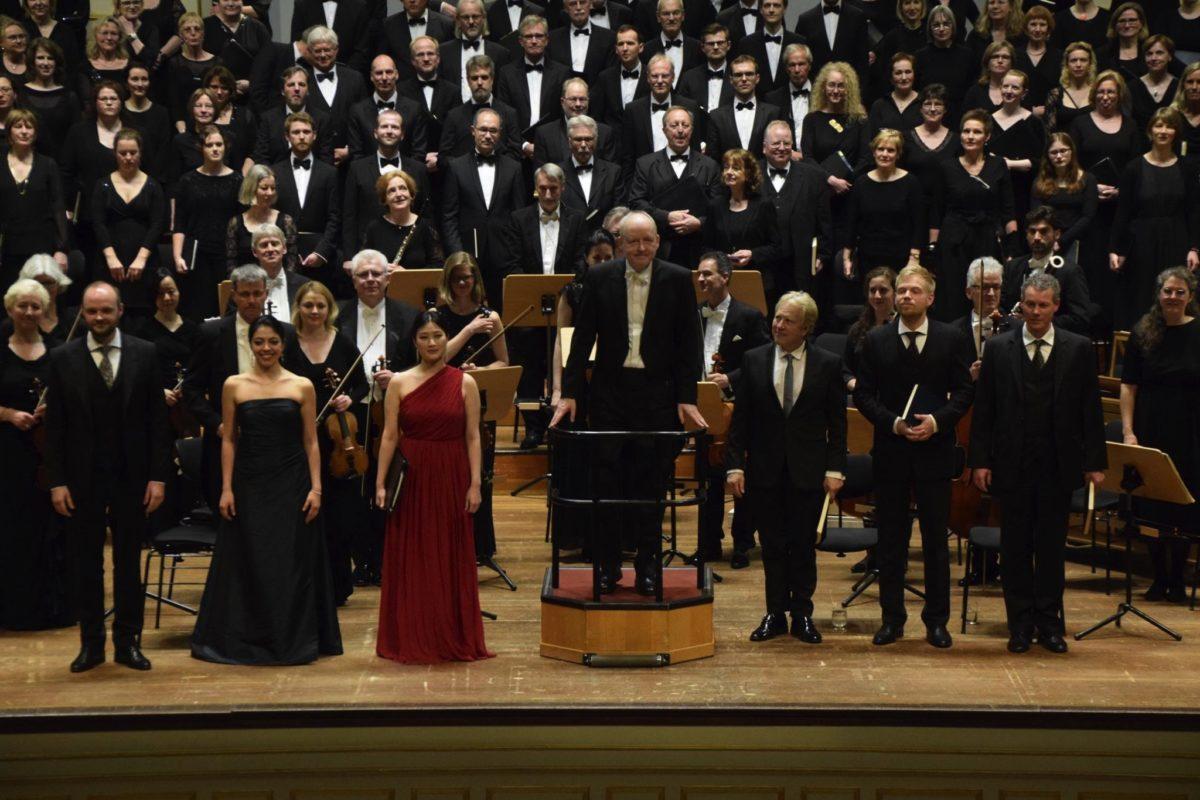 Symphonischer Chor Hamburg, Flensburger Bach-Ensemble, Matthias Janz,  Laeiszhalle Hamburg, Großer Saal, 6. April 2019