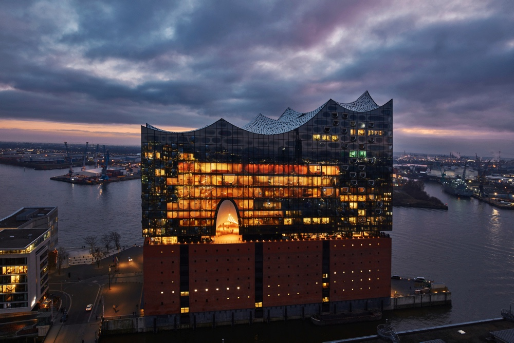 Die Akustik in der Elbphilharmonie,  Elphilharmonie Hamburg, Ostern 2019