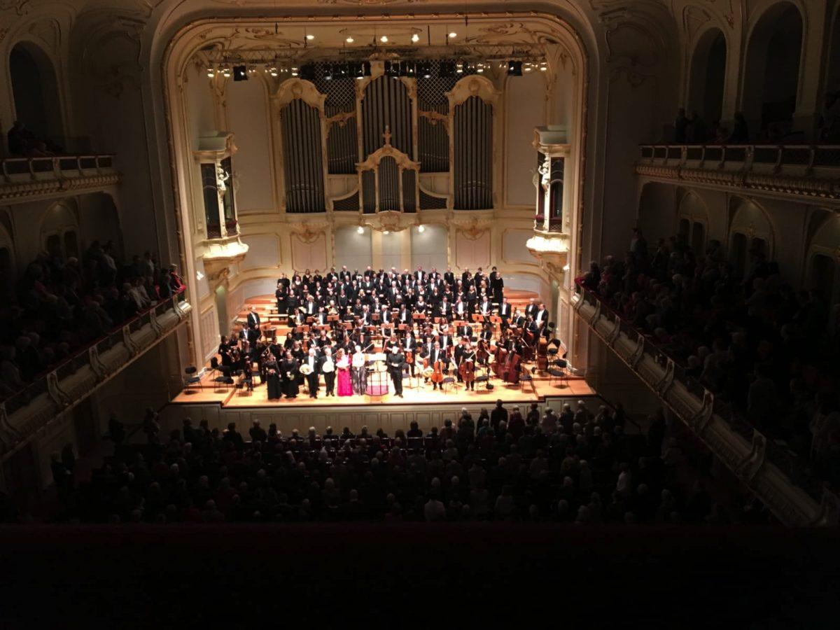 Carl-Philipp-Emanuel-Bach-Chor Hamburg Philharmonisches Orchester der Hansestadt Lübeck,  Laeiszhalle Hamburg, 7. Februar 2020