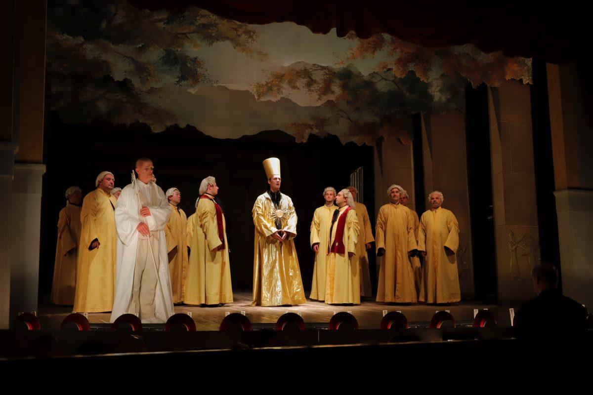 Wolfgang Amadeus Mozart, Die Zauberflöte,  Goethe-Theater, Bad Lauchstädt, 14. September 2019