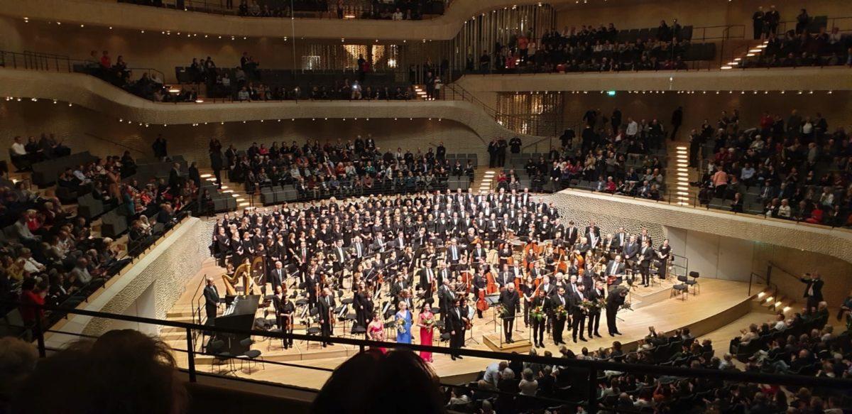 Symphonischer Chor Hamburg, Bremer Philharmoniker, Matthias Janz, César Franck, Les Béatitudes Elbphilharmonie Hamburg, 23. Februar 2020