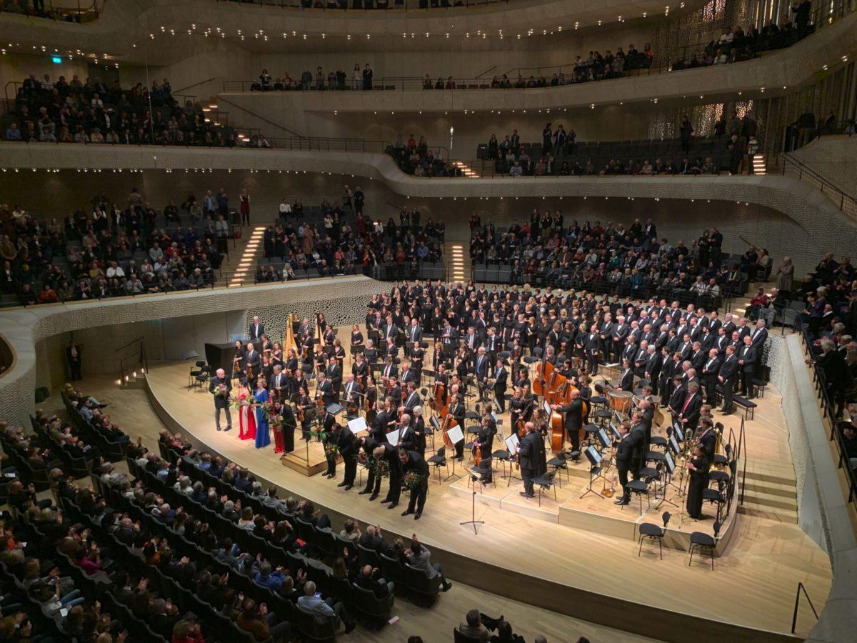 César Franck,Les Béatitudes, Symphonischer Chor Hamburg,  Elbphilharmonie Hamburg, Großer Saal, 23. Februar 2020