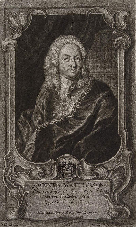 Portrait: Johann Mattheson  klassik-begeistert.de