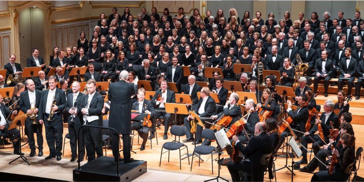Symphonischer Chor Hamburg, Flensburger Bach-Chor, Sønderjyllands Symfoniorkester,  Laeiszhalle Hamburg, 24. November 2019