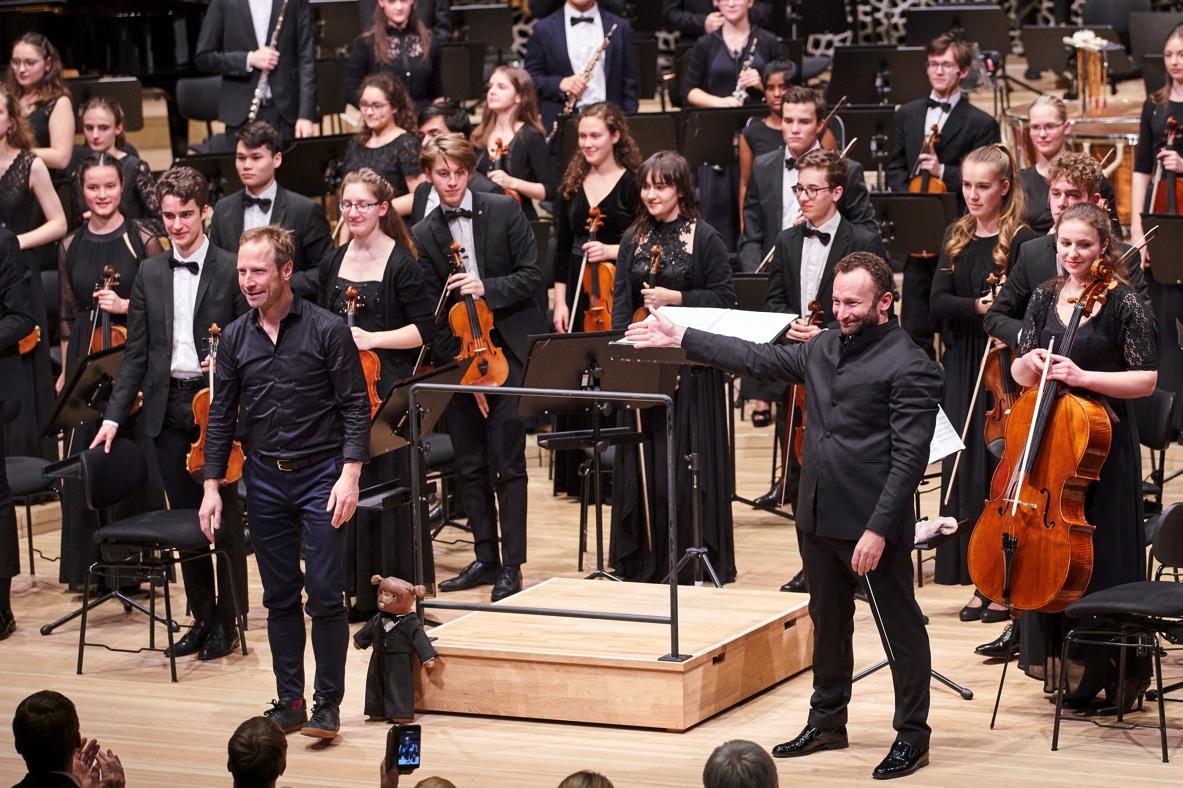 Bundesjugendorchester, Wieland Welzel, Kirill Petrenko, Elbphilharmonie Hamburg, 8. Januar 2019
