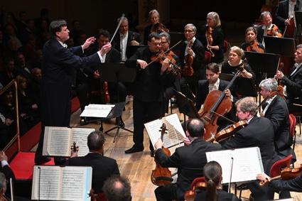 Christian Thielemann, Frank Peter Zimmermann, Sächsische Staatskapelle Dresden, Mendelssohn Bartholdy, Bruckner, Semperoper Dresden, 26. Januar 2019