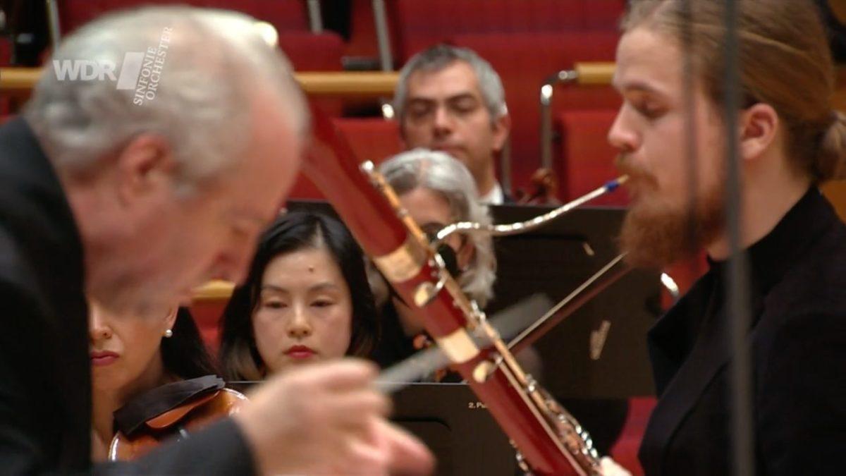 WDR Sinfonieorchester, Manfred Honeck, Mathis Kaspar Stier,  Kölner Philharmonie, 17. April 2021
