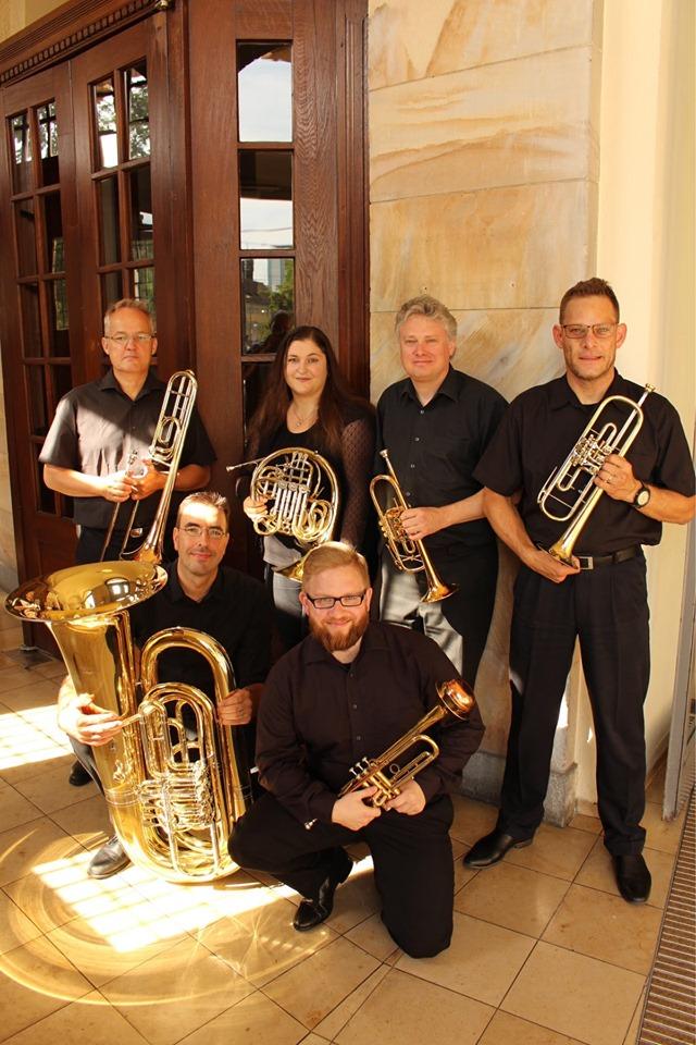 Blechbläserquintett des Philharmonischen Orchesters Freiburg,  Theater Freiburg, 06. Oktober 2019