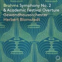 CD-Rezension,Gewandhausorchester Leipzig, Herbert Blomstedt Johannes Brahms,Symphonie Nr.2, Akademische Festouvertüre