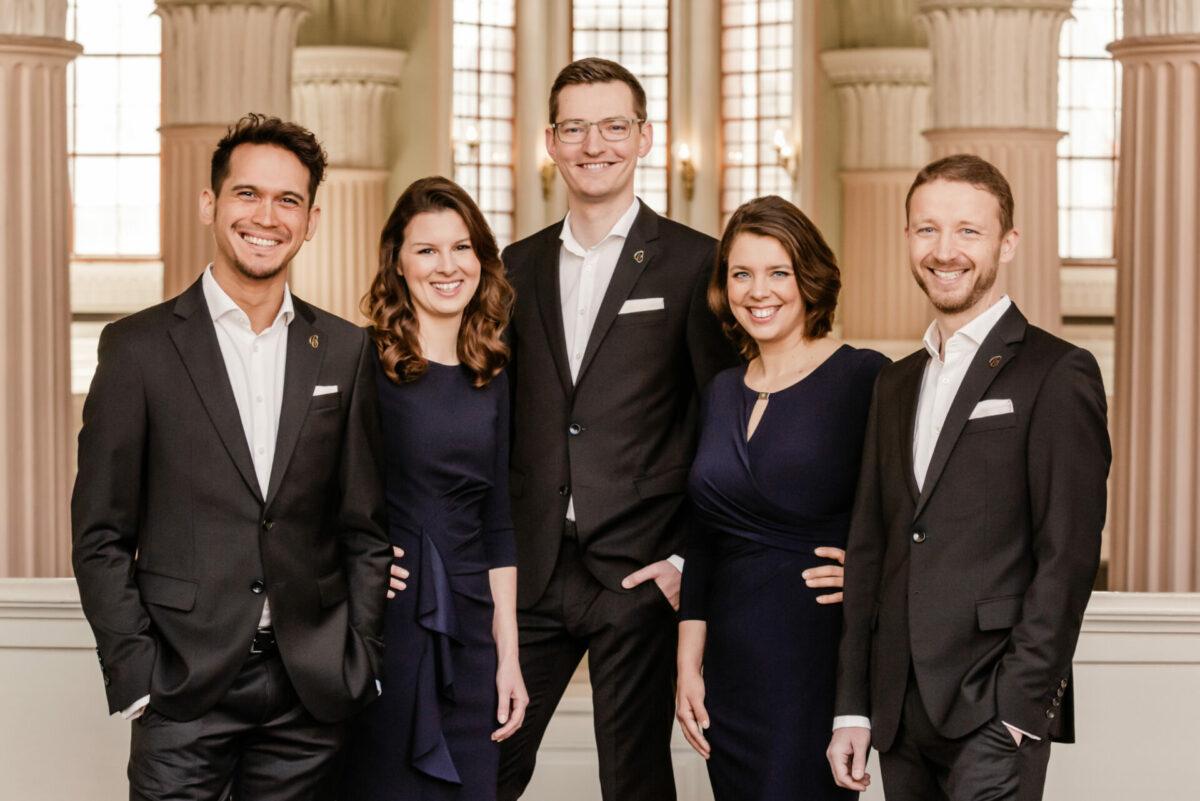Calmus-Ensemble, Richard van Schoor,  St.-Johannes-Kirche Castell, 18. September 2021