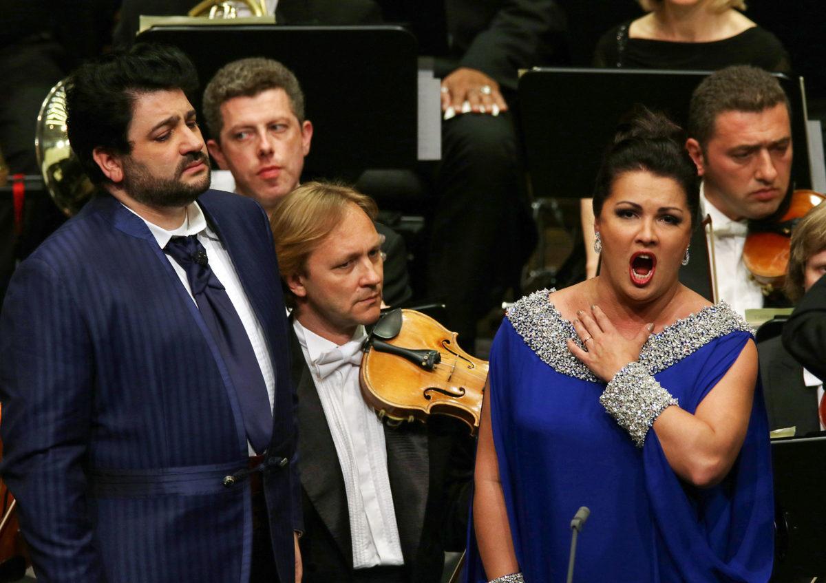 Anna Netrebko und Yusif Eyvazov, Würth Philharmoniker, Claudio Vandelli,  Carmen Würth Forum, Künzelsau