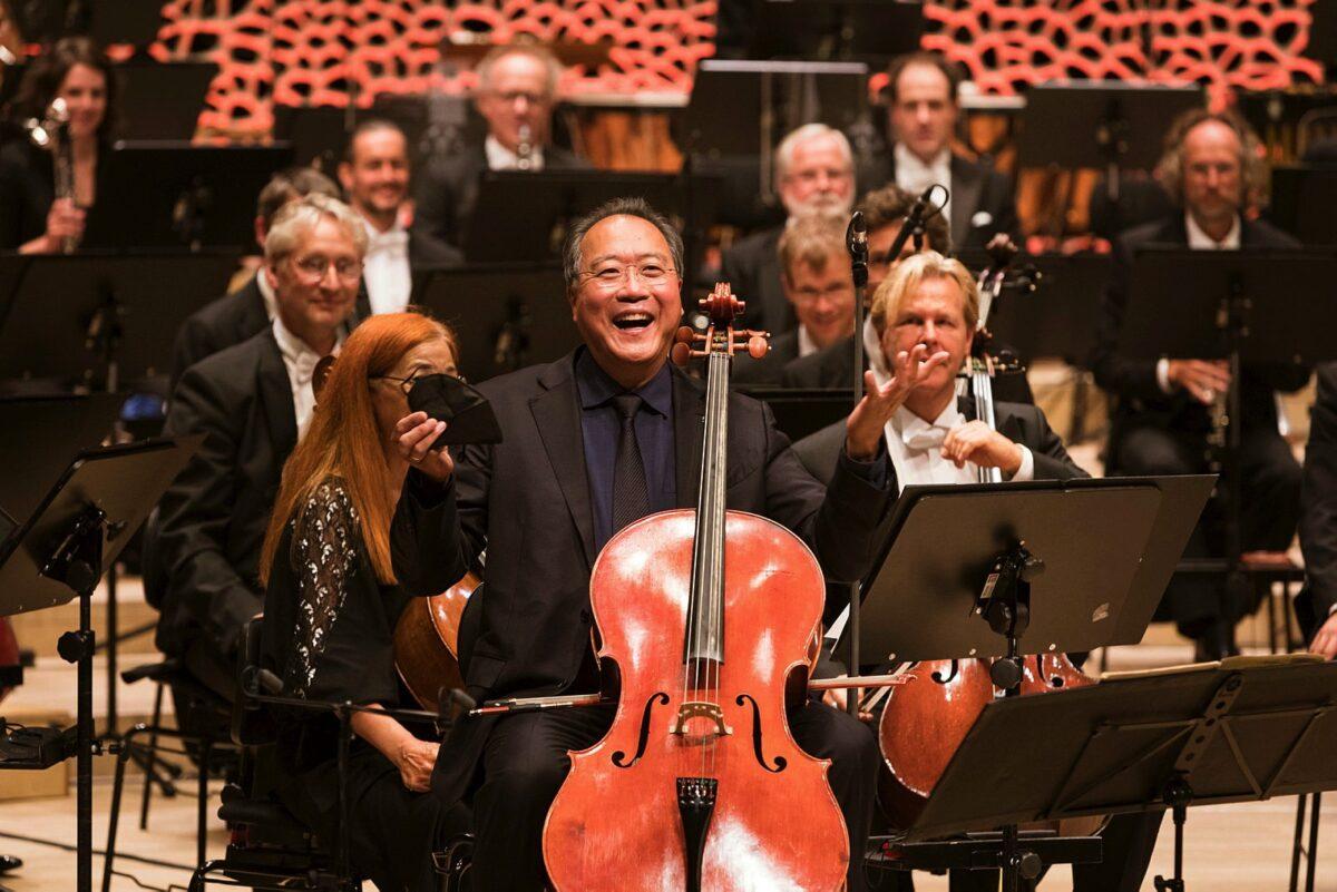 NDR Elbphilharmonie Orchester, Alan Gilbert, Yo-Yo Ma, Violoncello, Opening Night  ELBPHILHARMONIE, 1. SEPTEMBER 2021