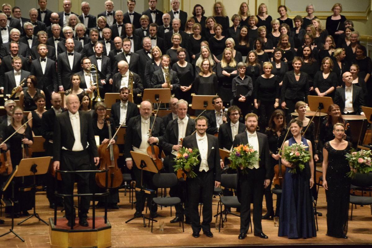 Symphonischer Chor Hamburg, Flensburger Bach-Chor, Sønderjyllands Symfoniorkester,  Laeiszhalle Hamburg