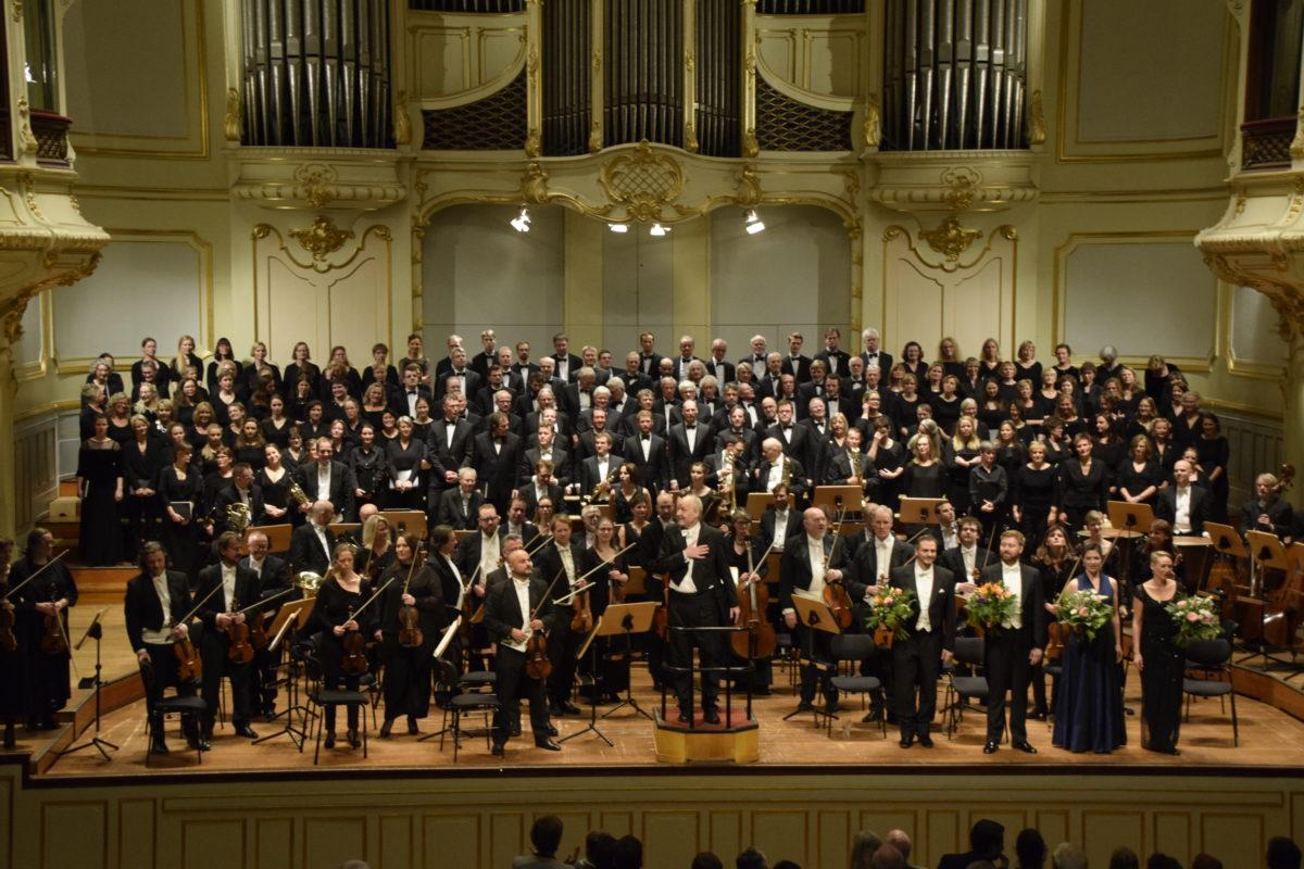 Charles Gounod, Cäcilienmesse, Antonín Dvořák, Stabat Mater, Symphonischer Chor Hamburg Flensburger Bach-Chor, Sønderjyllands Symfoniorkester, Matthias Janz,  Laeiszhalle, Hamburg