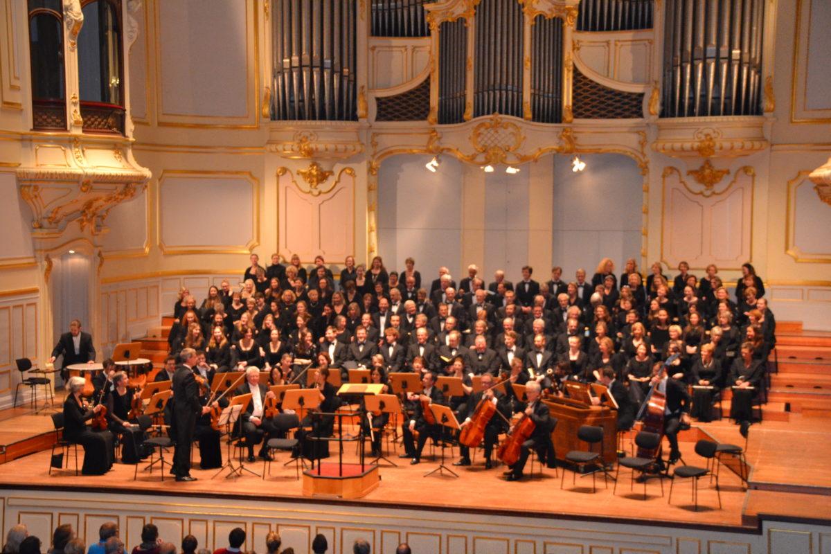 Weihnachtsoratorium, Johann Sebastian Bach,  Laeiszhalle Hamburg