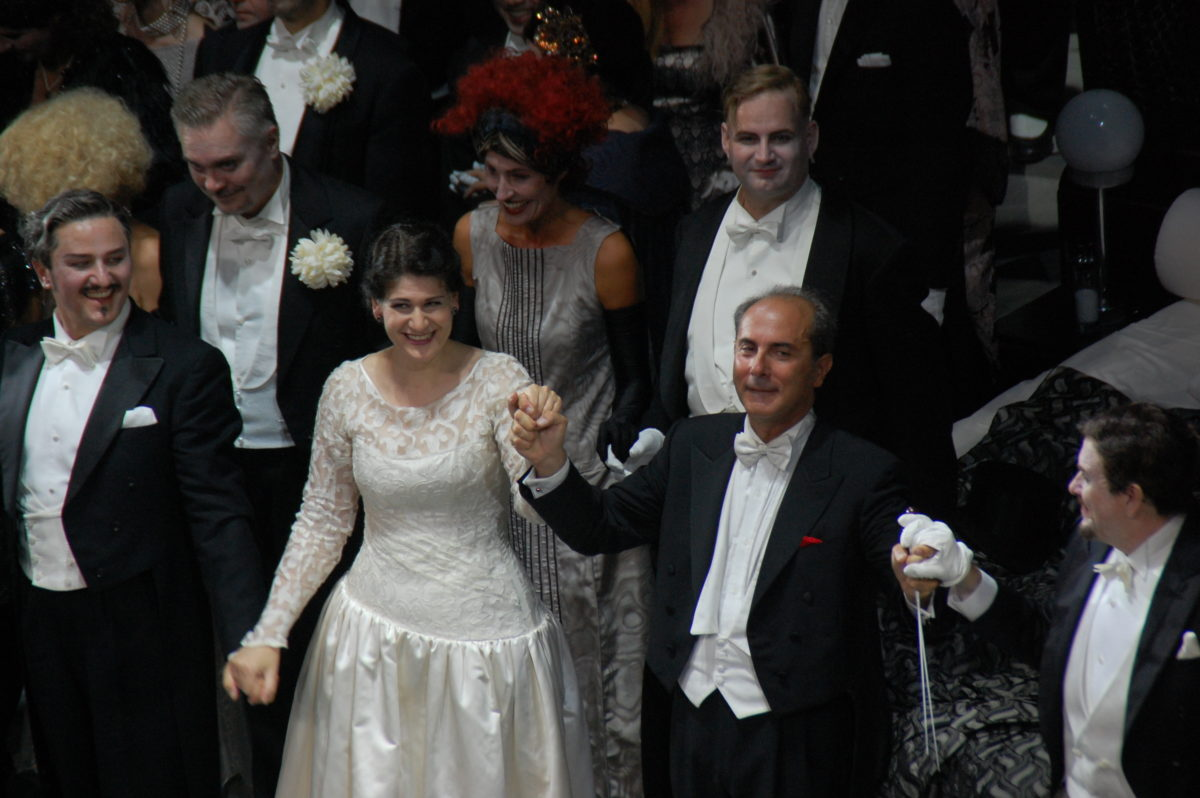 Un ballo in maschera, G. Verdi,  Bayerische Staatsoper