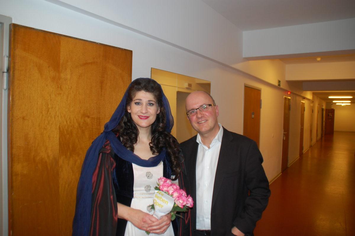 Tosca, Giacomo Puccini, Anja Harteros,  Deutsche Oper Berlin