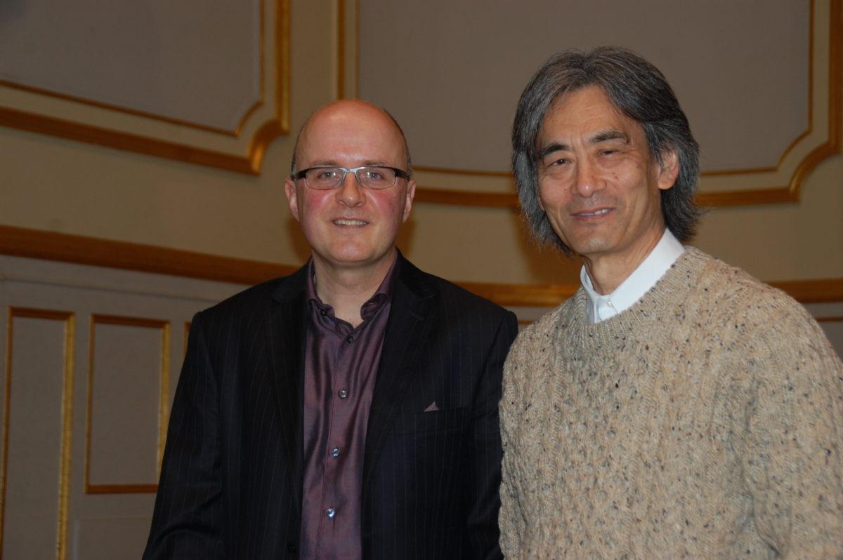 Kent Nagano Interview,  Laeiszhalle, Hamburg