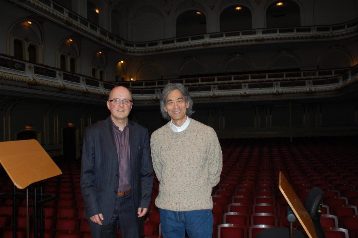 Interview Kent Nagano 2,  Elbphilharmonie, Laeiszhalle