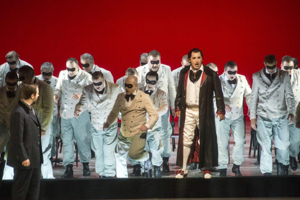 Giuseppe Verdi, Un Ballo in Maschera (Ein Maskenball), Deutsche Oper Berlin, 13. Mai 2018