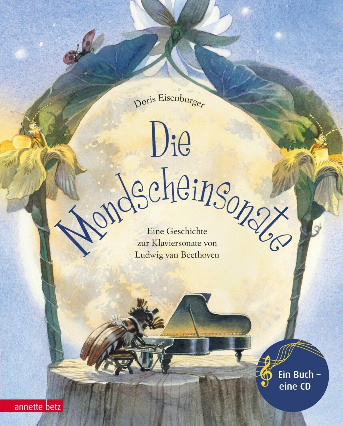 """Buchbesprechung """"Die Mondscheinsonate"""" von Doris Eisenburger  klassik-begeistert.de"""