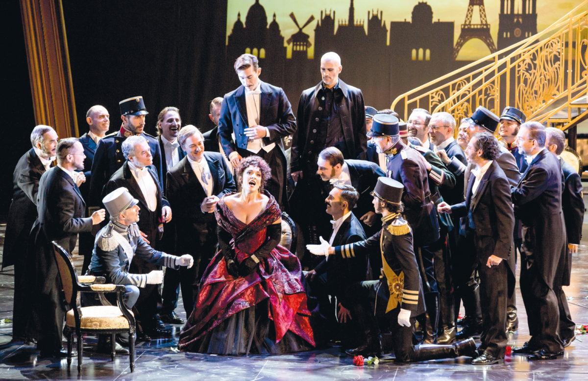 Franz Lehár, Die lustige Witwe, Staatstheater am Gärtnerplatz, München, 29. September 2018