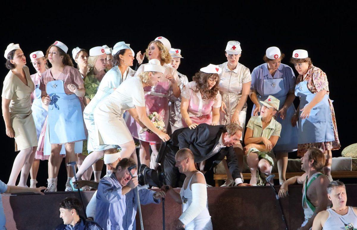Richard Strauss, Die Schweigsame Frau, Barrie Kosky  Bayerische Staatsoper