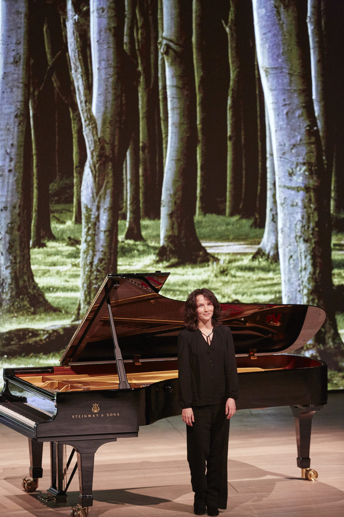 """Woodlands and Beyond…"", Hélène Grimaud, Mat Hennek,  Elbphilharmonie"