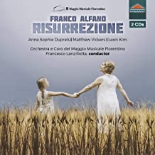 CD-Rezension, Franco Alfano, Risurrezione  klassik-begeistert.de