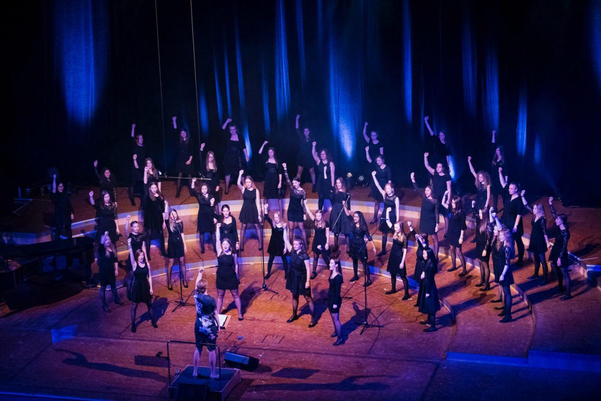 1.Deutsches Mädchenchorfestival der Chorakademie Dortmund,  Konzerthaus Dortmund, 8. März 2019