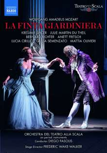 "DVD-Rezension: Wolfgang Amadeus Mozart, ""La finta giardiniera""  klassik-begeistert.de"