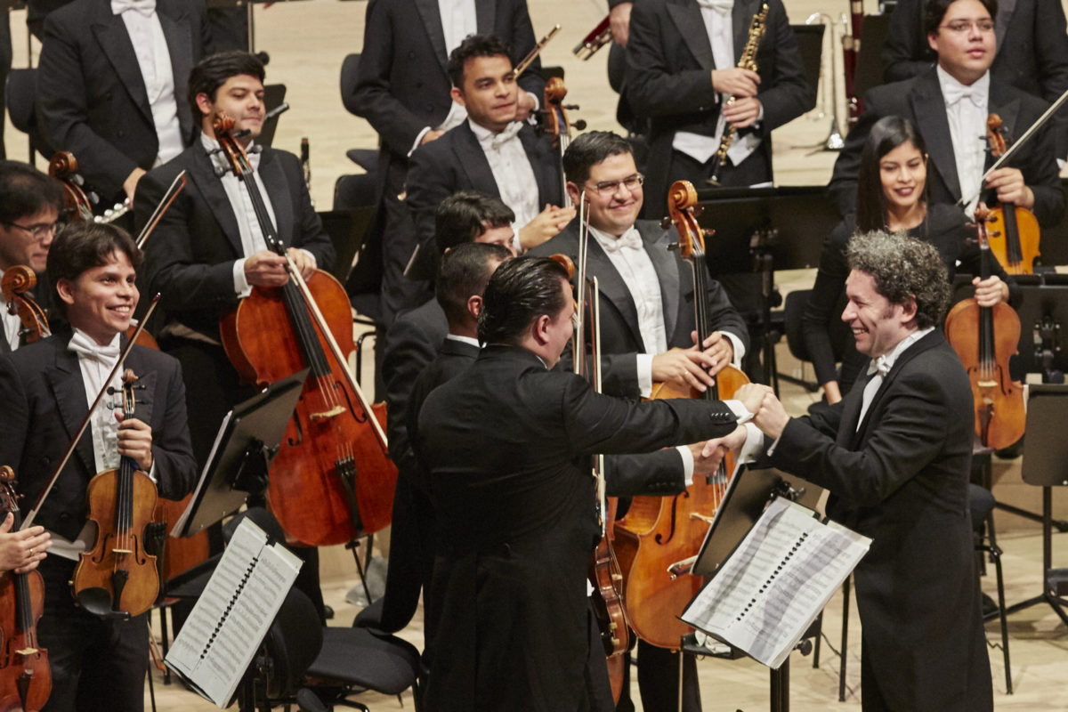 Orquesta Sinfónica Simón Bolívar de Venezuela, Gustavo Dudamel, Ludwig van Beethoven, Sinfonie Nr. 7, Sinfonie Nr. 8,  Elbphilharmonie Hamburg