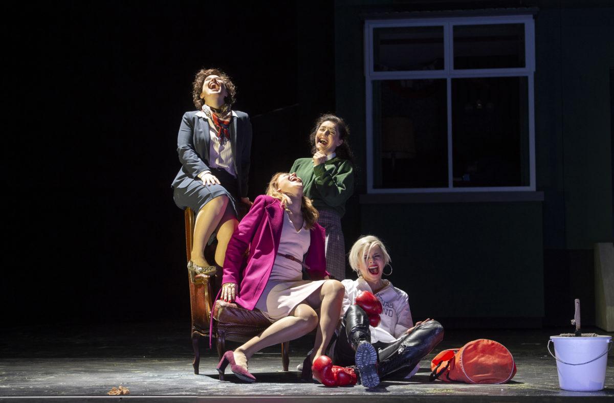 Giuseppe Verdi, Falstaff (Premiere),  Staatsoper Hamburg, 19. Januar 2020