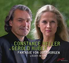 CD-Rezension: Constance Heller & Gerold Huber, Fantasie von übermorgen – Lieder im Exilklassik-begeistert.de