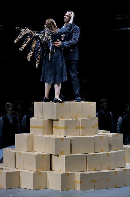 Richard Wagner, Der fliegende Holländer, 30. Juli 2018, Ricarda Merbeth; Peter Rose, Tomislav Muzek, Greer Grimsley  Bayreuther Festspiele,