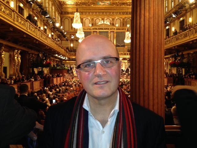 Neujahrskonzert 2017, Wiener Philharmoniker,  Großer Musikvereinssaal, Wien